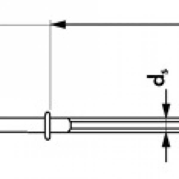 SR-L Винт угловой, оцинкованный