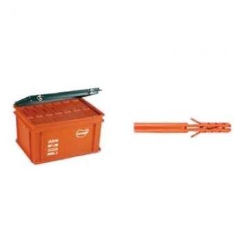 MNL Дюбель нейлоновый длинный в пластиковом ящике (Maxi-Box)
